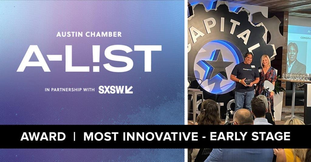 Austin Chamber of Commerce Award - 2021